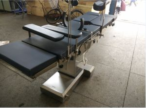 Electric Operating Table, Especially for Urology Surgeries, CE & ISO Certified, GB304 Stainless Steel pictures & photos