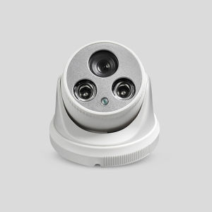 1.3MP IR Waterproof Icr Dome G-Poe IP Camera with Built-in Pickup