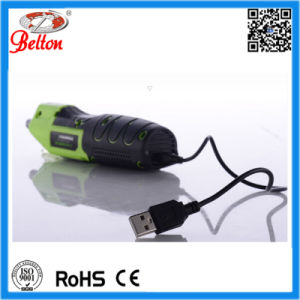 Mini Battery Powered Screwdriver with LED pictures & photos