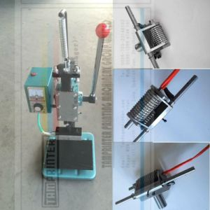 Tam-170 Manual Embossing Machine with Letter Mould pictures & photos