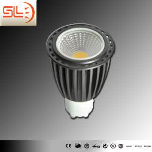 COB GU10 Alu Body LED Spotlight with CE EMC pictures & photos