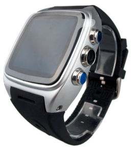 Factory Android Camera Wrist Watch with GPS WiFi Smart Watch Phone pictures & photos