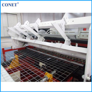 Factory Price Semi-Automatic Reinforced Mesh Panel Welding Machine (HWJ2000 with line wire and cross wire 5-12mm) pictures & photos