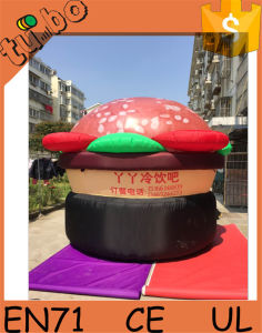 Giant Inflatable Hamburger Model for Inflatable Advertising Balloon