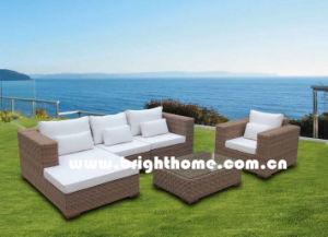 Half Round PE Rattan Sofa Set Outdoor Furniture Bp-M12 pictures & photos