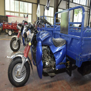blue Color Water Cooling Farm Motor Tricycle with Large Cargo pictures & photos