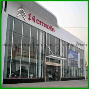 Prefabricated Light Steel Frame Exhibition Hall for Car pictures & photos