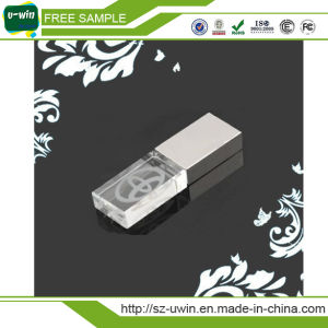 Bamboo Crystal Pen Drive Promotional USB Flash, OEM USB Drive, Customized USB pictures & photos