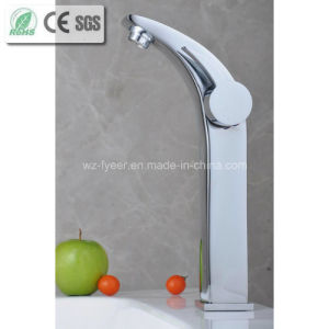 Fashion High Body Single Brass Basin Faucet (Q3066H) pictures & photos