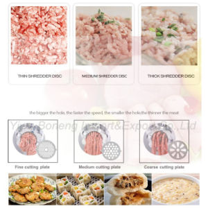 Electric Meat Grinder Mince Machine with Reverse Function, Sf3058. pictures & photos