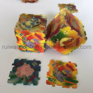 Custom Square 3D PP Puzzle for Cheap Promotion Gifts pictures & photos