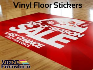 Customed Floor Vinyl Sticker for Decoration pictures & photos