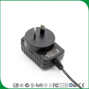 Wall Plug 12V 2A EU Us UK Au Switching Power Adapter pictures & photos
