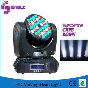 36PCS LED Moving Head Wash for Stage pictures & photos