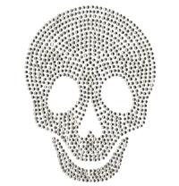 Heat Transfer Stone Motif Paper Skull Design Hotfix Motif pictures & photos