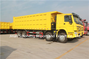 China HOWO 8X4 Dump Truck 31 Ton with Strong Body pictures & photos