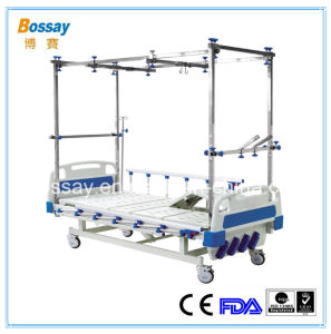 4-Cranks Orthopedic Hospital Bed Traction Medical Bed pictures & photos