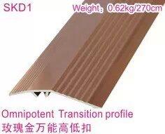 Ck Luxious Rose Golden Aluminum Flooring Reducer Profiles pictures & photos