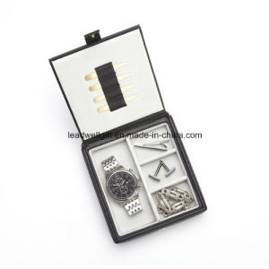 Personalized Royce Watch Box and Cufflink Holder Storage Case pictures & photos