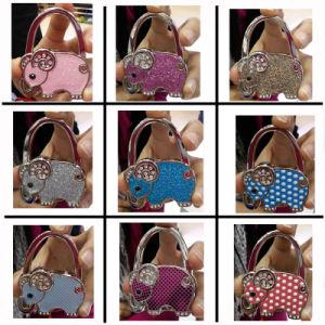 Elephant Shape Nine Colors Table Top Bag Hanger pictures & photos