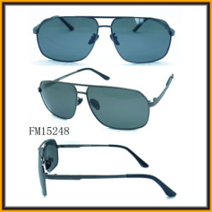 Sunglass for Man Metal Frame CE&FDA (FM15248) pictures & photos
