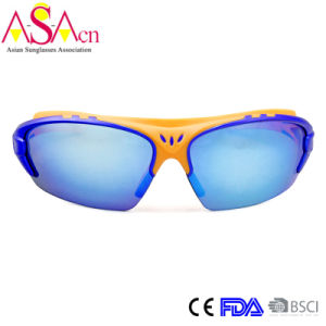 High Quality Light PC Colorful Sports Sunglass (14368) pictures & photos