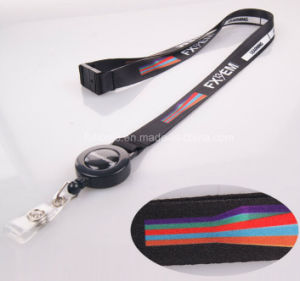 Dye Sublimation Print Neck Lanyard Strap with Badge Reel pictures & photos