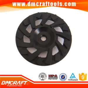 100mm Turbo Diamond Grinding Disc/Cup Wheel for Concrete pictures & photos