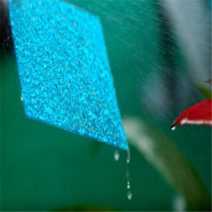 Good Quality Colored Polycarbonate Embossed Sheet with UV Protection