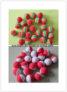 EVA Foam Material and Gifts, Kids Ball, Toys Type Foam Soccer Ball pictures & photos