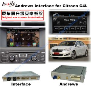 (13-16) Car Multimedia Android Interface GPS Navigation Box for Citroen C4L/C3-Xr in 7inch pictures & photos