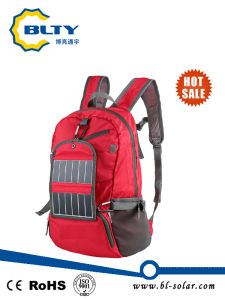 6.5W Sunpower Solar Backpack for Traveller and Camping pictures & photos