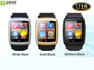 Factory Produced Fashion Smart Watch with GPS/Bluetooth/Dual-Core