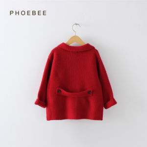 Phoebee Kids Wear Knitting/Knitted Girls Clothing for Winter pictures & photos
