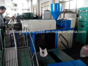 PVC Coated Corrugated Metal Water Hose Manufacturing Machine pictures & photos