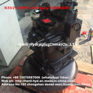 (K5V212DPH1J2R) Hydraulic Excavator Track Piston Pump Make in China pictures & photos