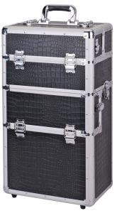 Design Aluminum Tool Box with Wheels pictures & photos