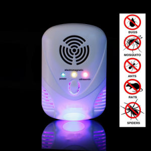 Ultrasonic Electronic Reject Insect Indoor Pest Bug Control Repeller Rat Repellent pictures & photos