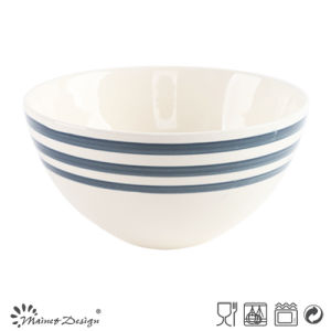 14cm Ceramic Bowl with Simple Decal Design pictures & photos