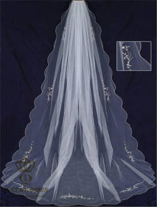 2016 The New Single Long Paragraph Bridal Veil, Wedding Veil