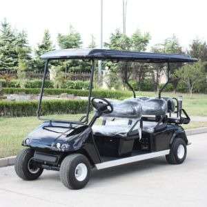 China OEM Customize 6 Seats Electric Golf Cart Dg-C4+2 with CE pictures & photos