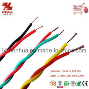 Electric Wire and Cable PVC Insulation Twisted Wire Rvs Copper Cable pictures & photos