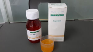 Western Medicine Pharmaceutical Chemical Drugs Suspension Ibuprofen (100mg/5ml, 60ml) pictures & photos