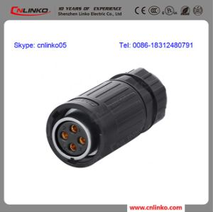 Watertight Used in Harsh Environment AC DC Power Adapter 4 Pin Connector pictures & photos