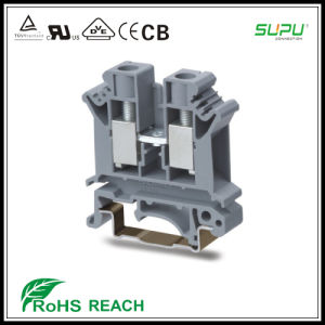 Rail Mounted Terminal Blocks with Screw Clamp UK16N pictures & photos