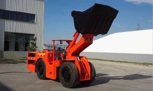Electric Load Hual Dumper with 0.75cbm Bucket Size pictures & photos