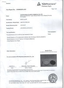 A5 Plastic Melamine Formaldehyde Compound Resin Powder pictures & photos