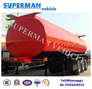 40cbm 3 Axle Liquid Transport Oil Fuel Tanker pictures & photos