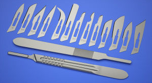 Disposable Standard Surgical Blade with Handle pictures & photos