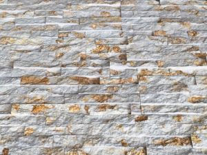 China New Beige Design Marble Split Face Culture Stone pictures & photos